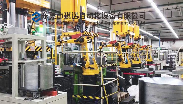 冲压自动化生产线改造